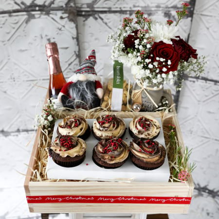 Cupcakes for Christmas Hamper